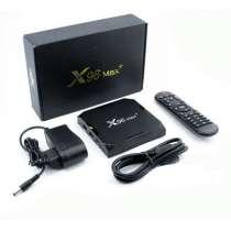 X96 Max Plus 4/64 + g50s air mouse андроид приставка, в Белгороде