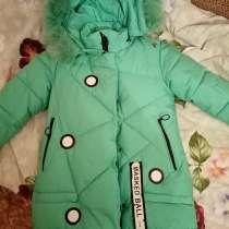 Продам зимнюю куртку на девочку, в Волжский