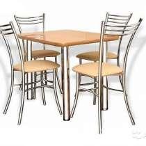Стол обеденный фл 1200х800 стул кресла мебель, в Уфе