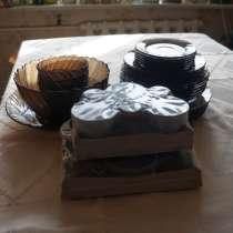 Новый столово-чайный сервиз на 6 персон. Франция, в Самаре