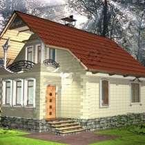 Построим коттедж - 128 м2 по фиксированной цене, в Новосибирске