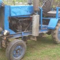 Самодельный трактор на базе ГАЗ-51, в г.Заславль