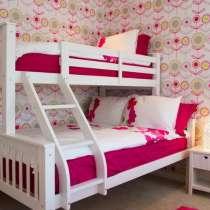 Кровать Двухъярусная из натурального дерева ольхи Твин, в г.Одесса