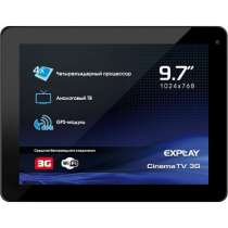 "Планшет 9.7"" Explay CinemaTV 3G (черный). DaRPC03, в Нижнекамске"