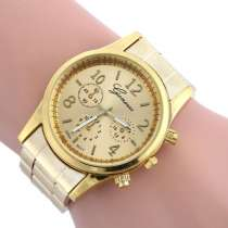 Продам наручные кварцевые часы унисекс бренд Geneva, в Калининграде