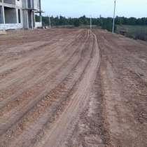 Поднятие уровня участка, чистым планировочным грунтом, в Нахабино