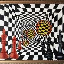 Шахматы в живописи № 5, в Москве