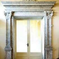 Оконные и дверные порталы из мрамора и известняка, в Нижнем Новгороде