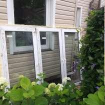 Пластиковое окно б/у двух камерное, в Королёве