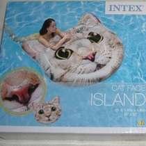 Котик-надувной плот -островок Кошачья голова, Intex, в Москве