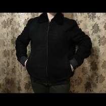 Куртка мужская влюр настоящий, в Москве