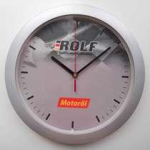 Часы с эмблемой масла ROLF (Рольф), новые, в Омске