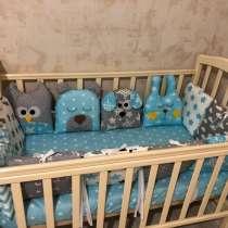 Новые бортики в кроватку для мальчика, в Новосибирске