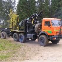 КамАЗ лесовоз-сортиментовоз, в Томске