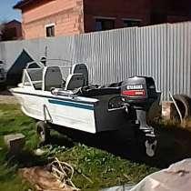 Лодка прогресс 4 с мотором YMAHA 40XMH S, в Костроме