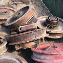 Закупаем крановые колеса любых диаметров от 250мм до 980мм, в Челябинске