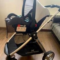 Продаю коляску KikkaBoo с карситом KikkaBoo вместе, в г.Тбилиси