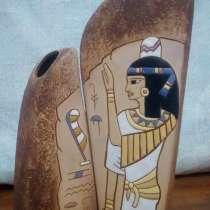 Ваза керамика «Египетскикие мотивы», в Санкт-Петербурге