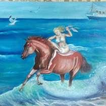 Картина масло холст 50×60, в Сарапуле