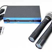 Радиосистема SHURE WM-502R база 2 радиомикрофона, в г.Киев