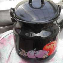 Эмалированный чайник в отличном состоянии 3-х литровый, в Анапе