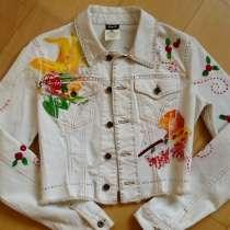 Джинсовый пиджак D&G оригинал, новый, в Красноярске
