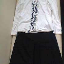 Школьная форма для девочки 140-146 размер черная, в Москве