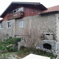 Черногория. Каменный дом с мансардой, видом на море, Луштица, в г.Тиват
