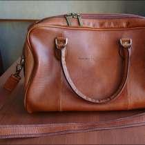 Дорожная сумка из натуральной кожи пр-во Италия, в Екатеринбурге