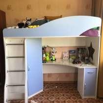 Продаётся в связи переездом, детская кроватка «чердак», в Москве