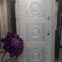 Дверь металлическая в дом с защитой от промерзания, в Казани