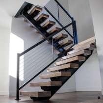 Изготовим лестницу на металлокаркасе или из металла, в Томске
