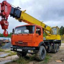 Продам автокран Ивановец, КАМАЗ-43118(6х6),2008г/в, в Челябинске