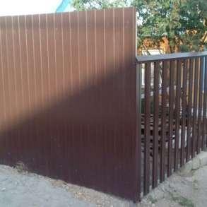 Заборы Ворота под ключ, в Миассе