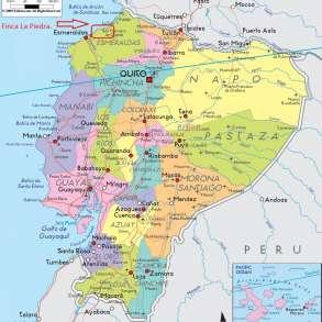 Земля в Эквадоре на побережье рентабельность 200$, в г.Esmeraldas