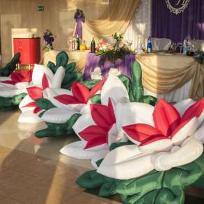 Надувные цветы с эффектом раскрытия, в г.Минск