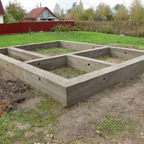 Бетонные работы фундаменты, в Ставрополе