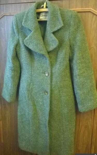 Кашемировое пальто Gratti, цвет Kale -тренд 2017 года