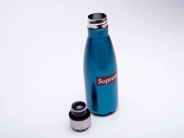 Бутылка Supreme. 0,4л. для спорта, туризма, охоты и рыбалки в Челябинске