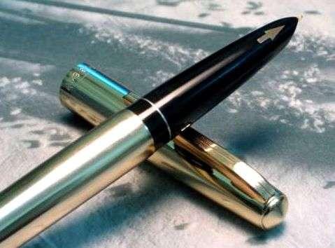 Ручка перо Wing Sung # 812 - 70-80 г.г. - редкий китайский экземпляр