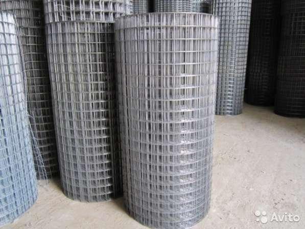 Оцинкованная сварная сетка заборная 25х25х1,6мм., выс. 2 м