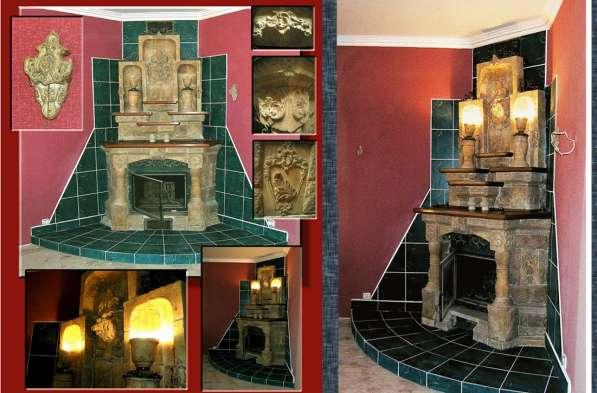 Ручная лепнина, барельеф, декор стен в Сергиевом Посаде фото 6
