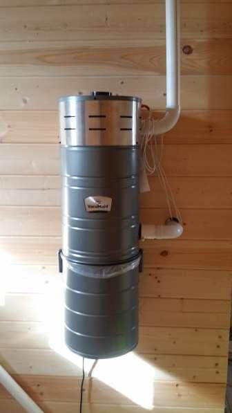 Встроенный пылесос Vacumaid P115 США