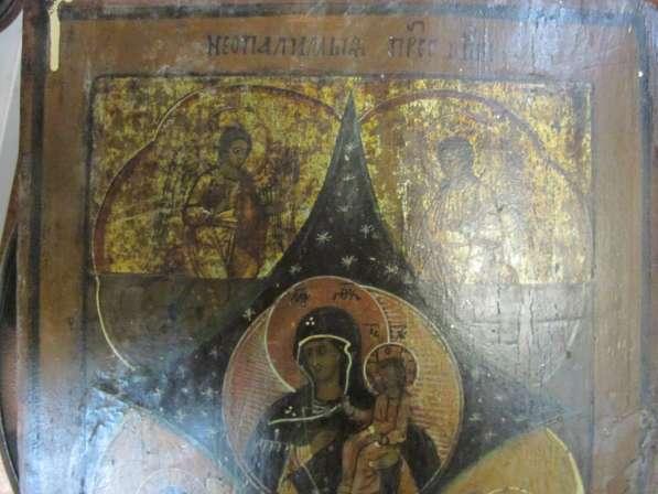 ИКОНА-ПРЕСВЯТАЯ БОГОРОДИЦА-НЕОПАЛИМАЯ КУПИНА-27 см * 34 cм в Челябинске фото 4