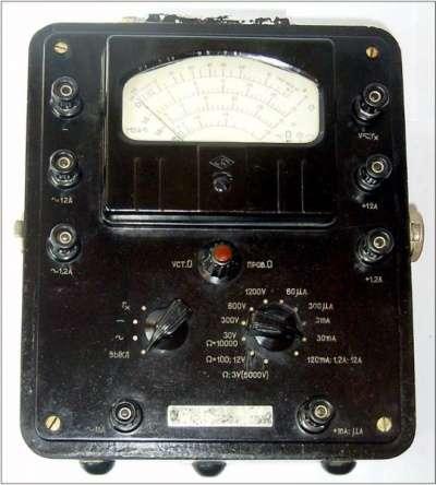 электроизмерительный прибор АВО-5М1