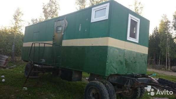 Продам вагон-дом колесный