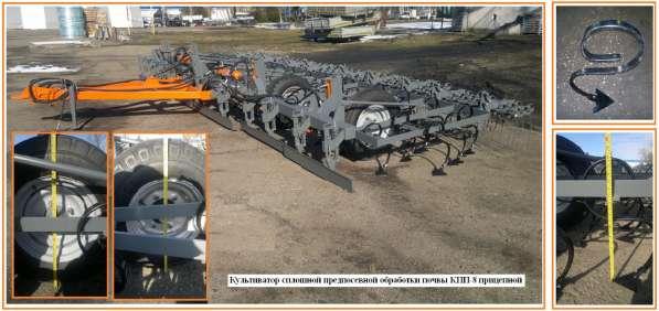 Культиватор сплошной предпосевной обработки почвы КПП-8 приц