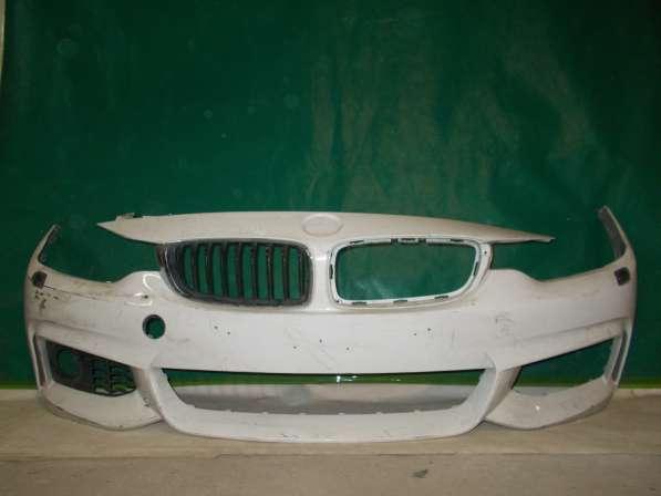 Передний бампер на BMW 3er F30
