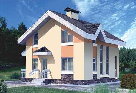 Строительство кирпичного дома 8 х 8,5