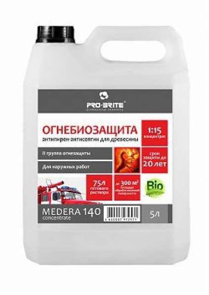 Антисептик-антипирен Medera 140 Concentrate